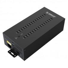 USB 2.0 хаб промисловий на 30 портів (ORICO IH30P)